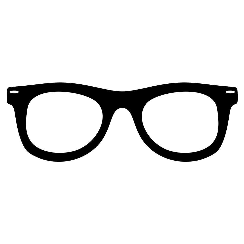 Adesivo de Parede Óculos Geek