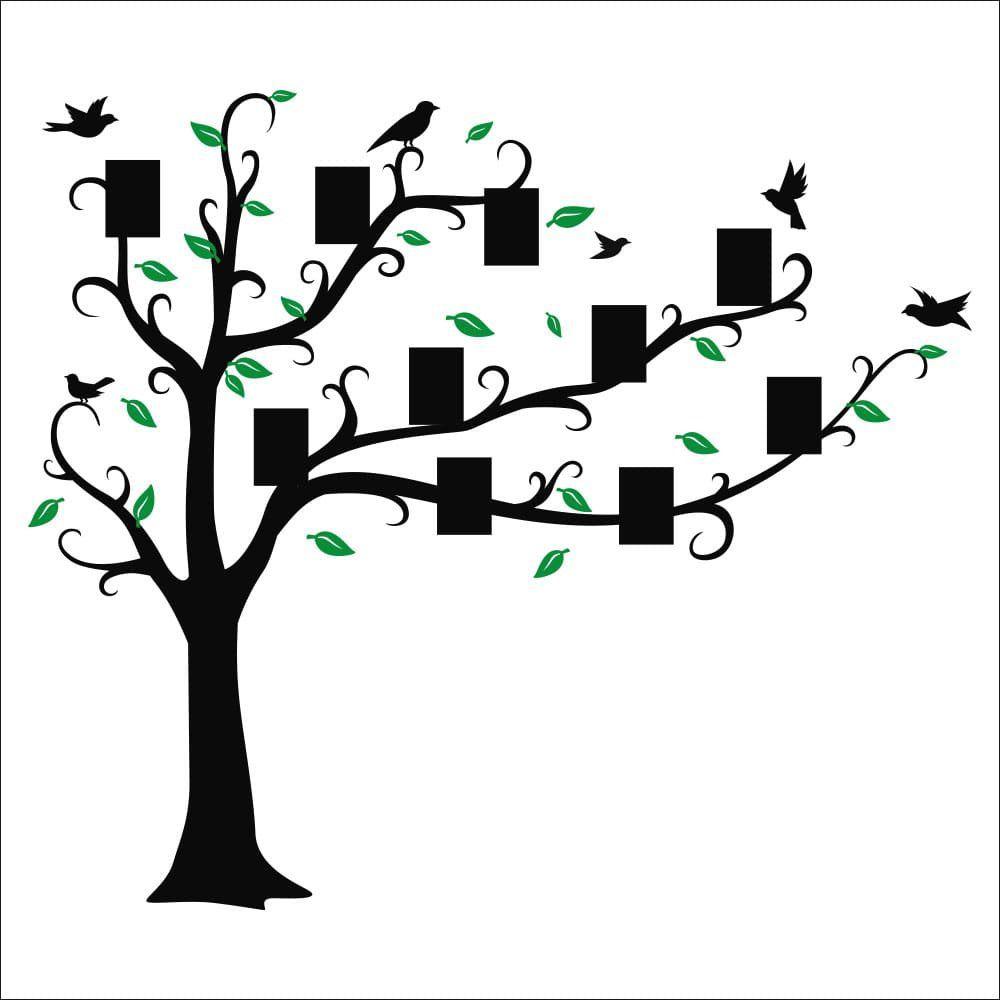 Adesivo de Parede Porta Retrato Birds