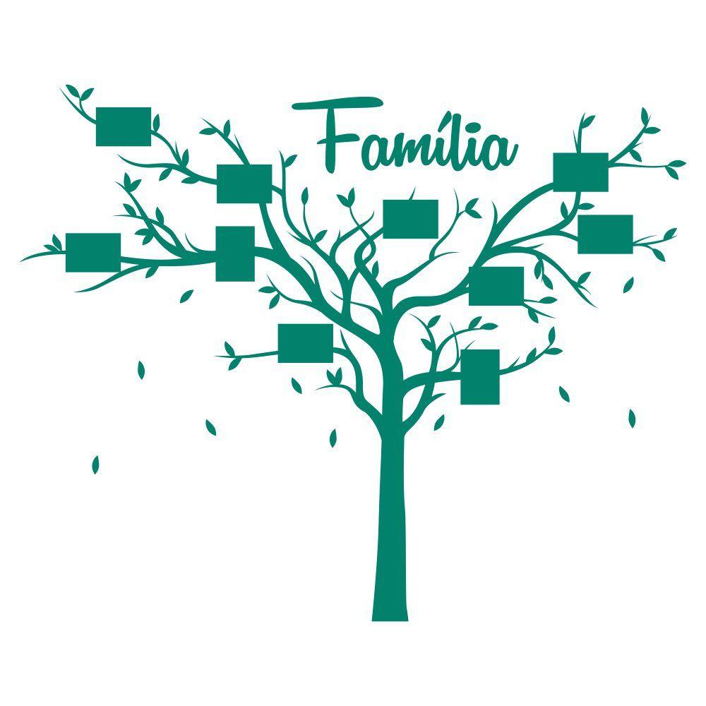 Adesivo de Parede Porta Retrato Família