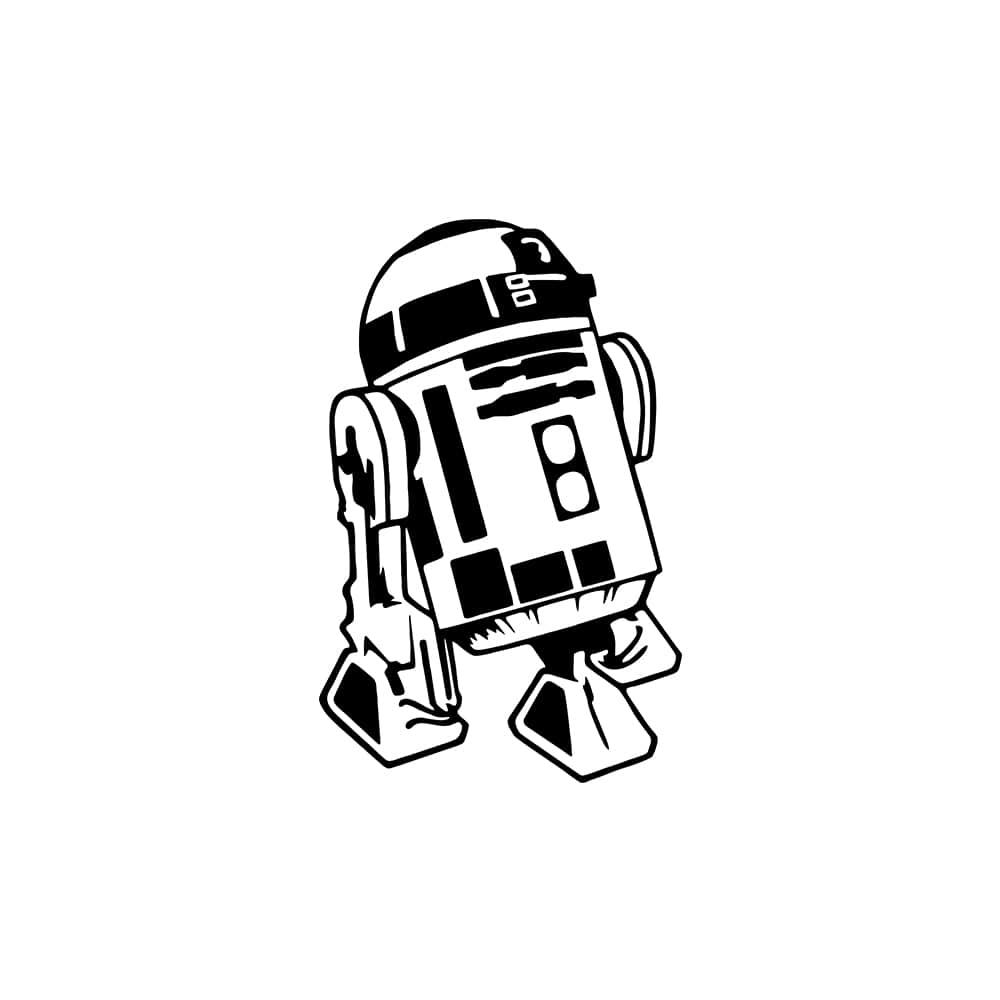 Adesivo de Parede R2 D2
