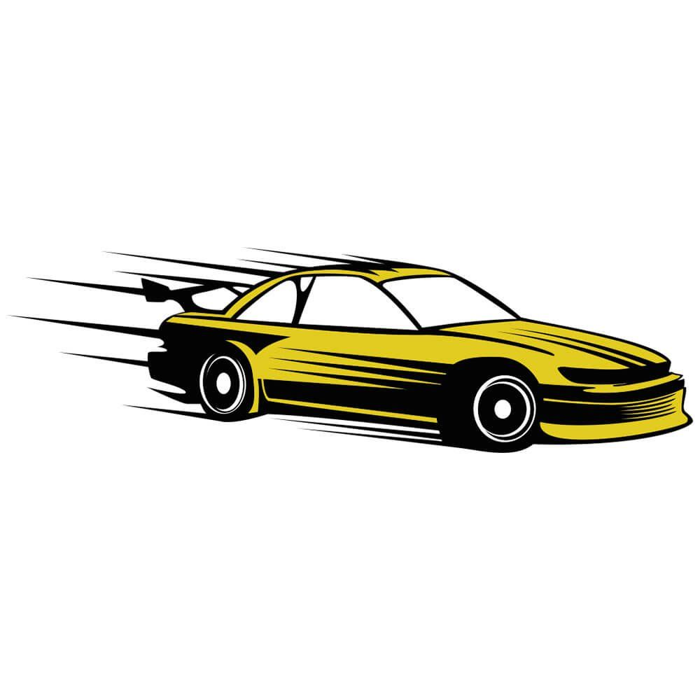 Adesivo de Parede Racing
