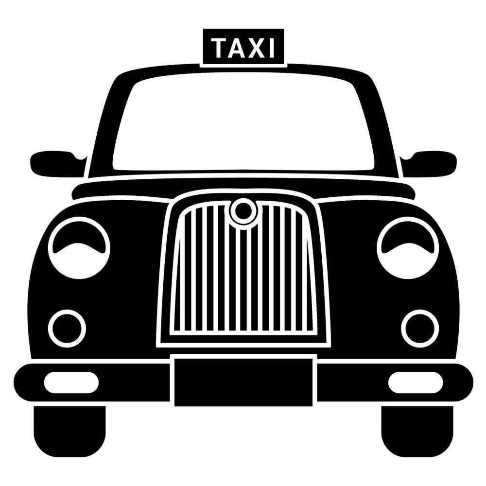 Adesivo de Parede Táxi