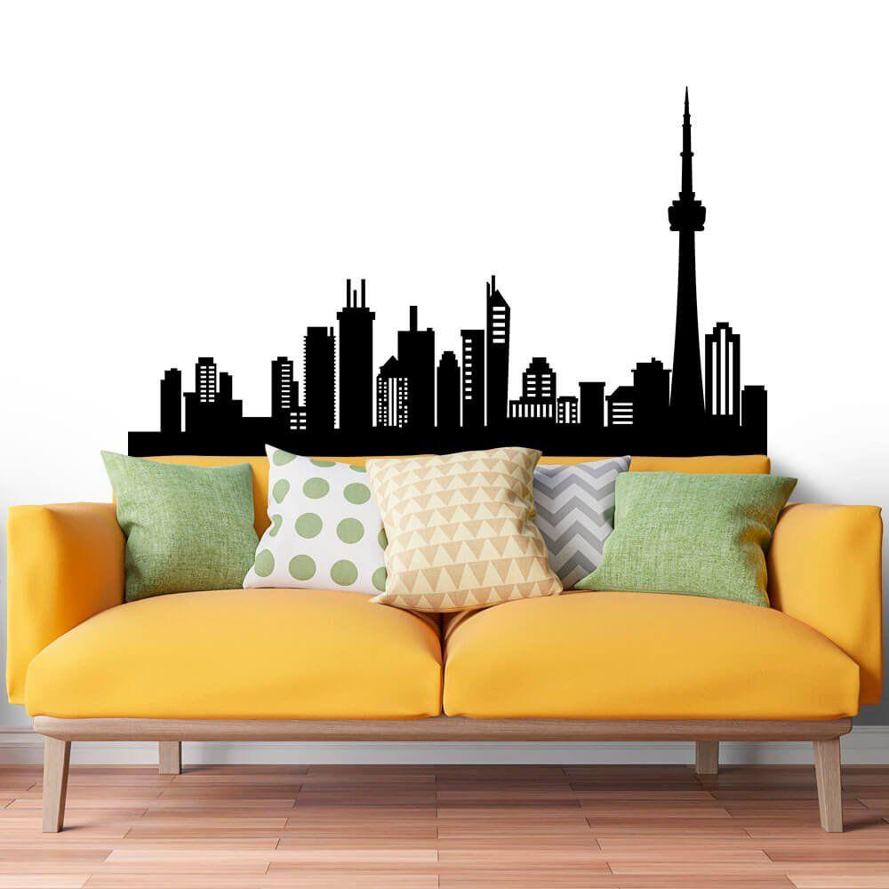 Adesivo de Parede City of  Toronto