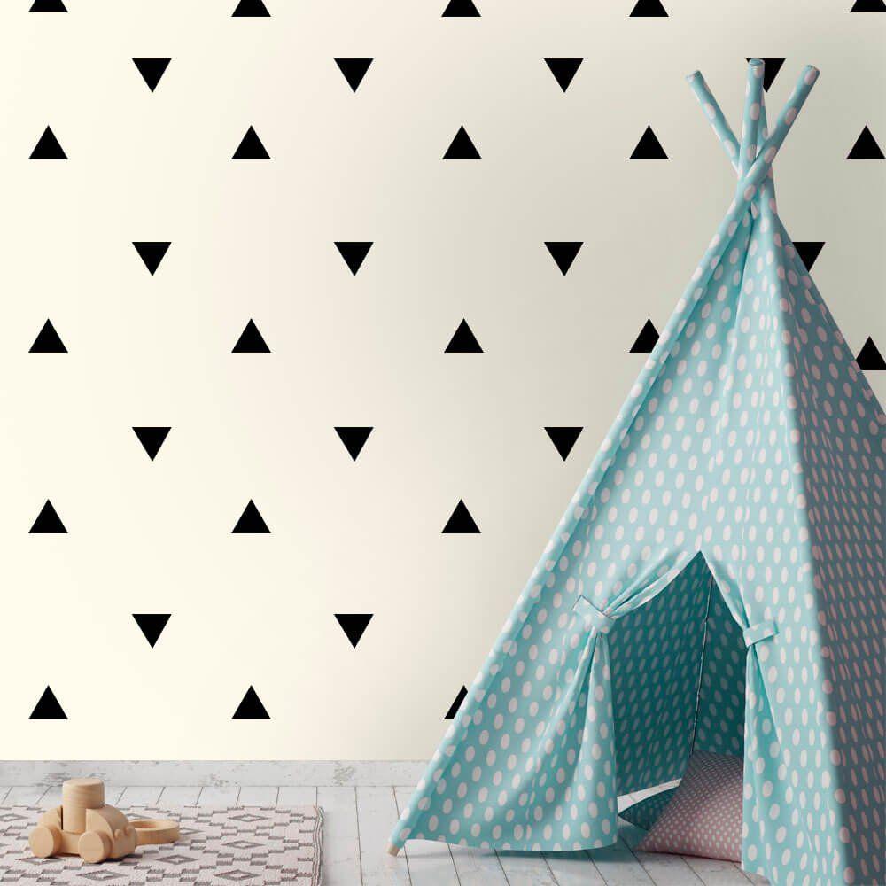 Adesivo de Parede Triângulos