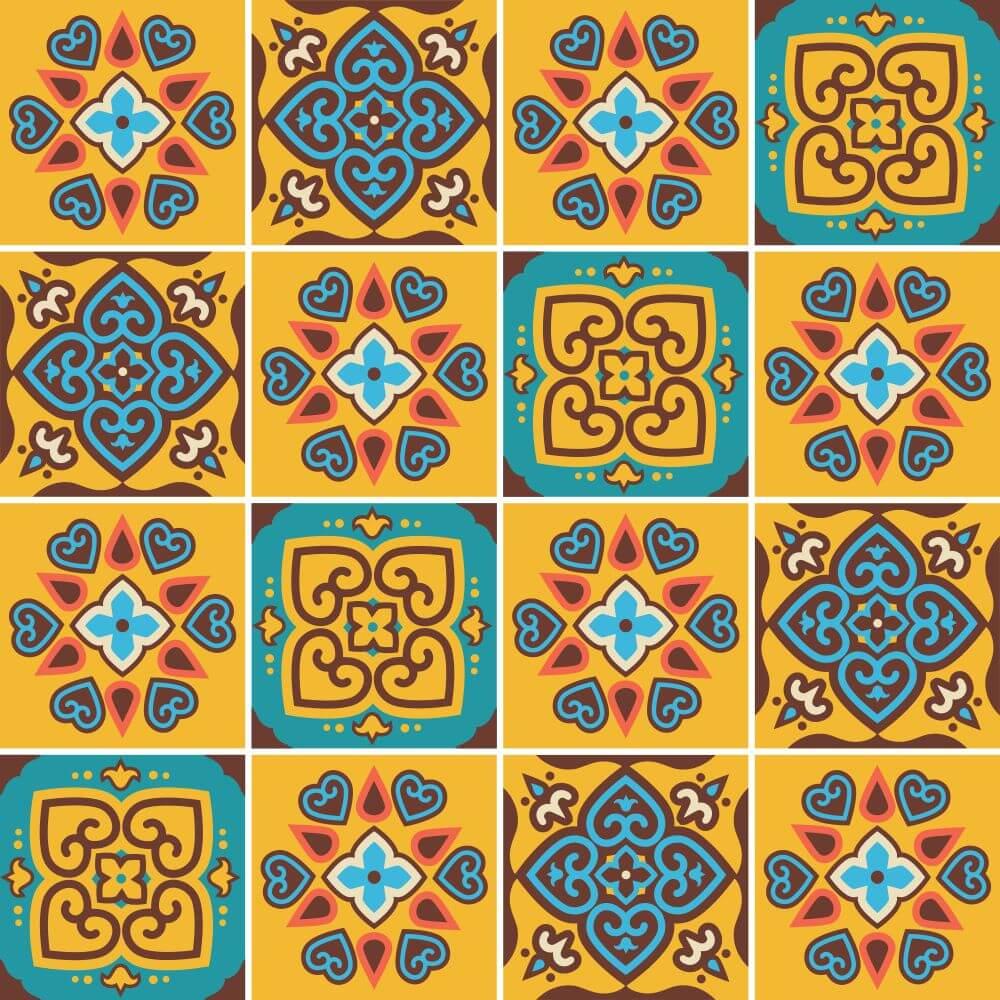 Adesivo para Azulejo Amsterdam