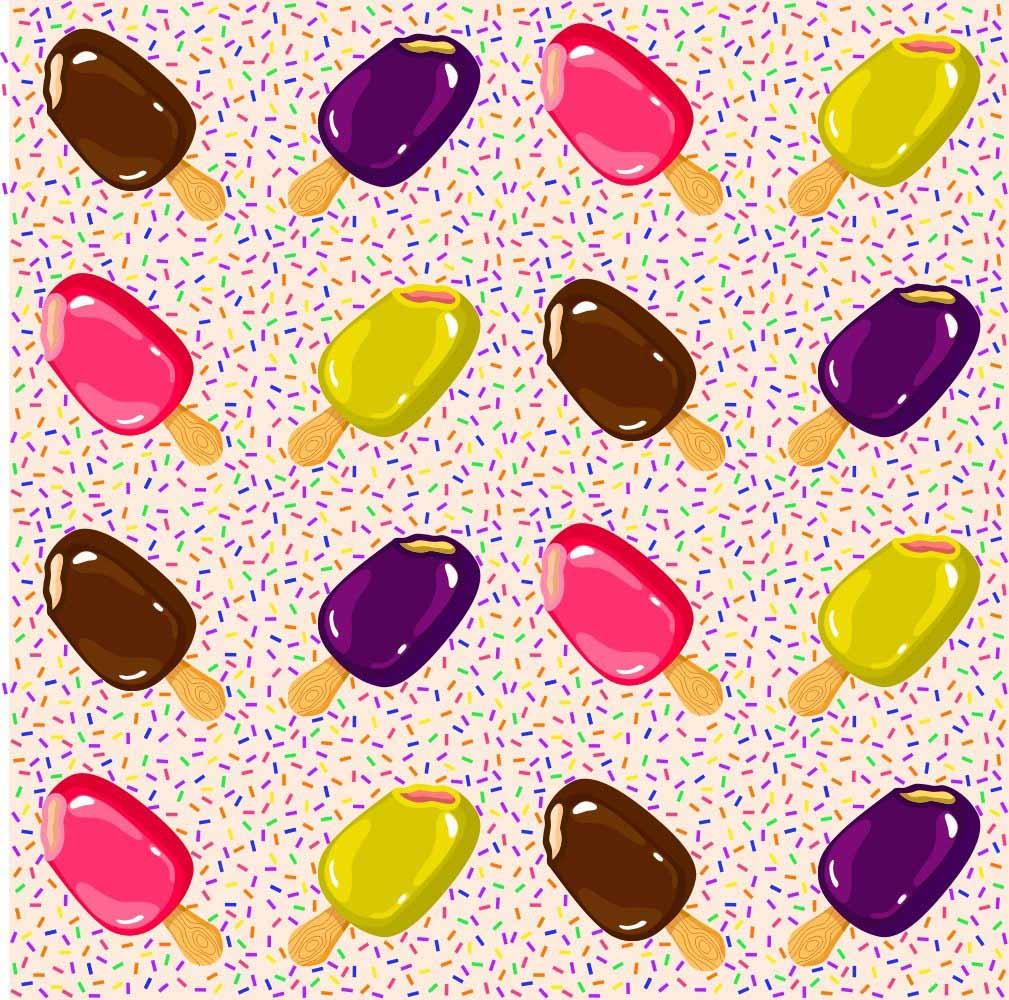 Adesivo para Azulejo Ice Cream