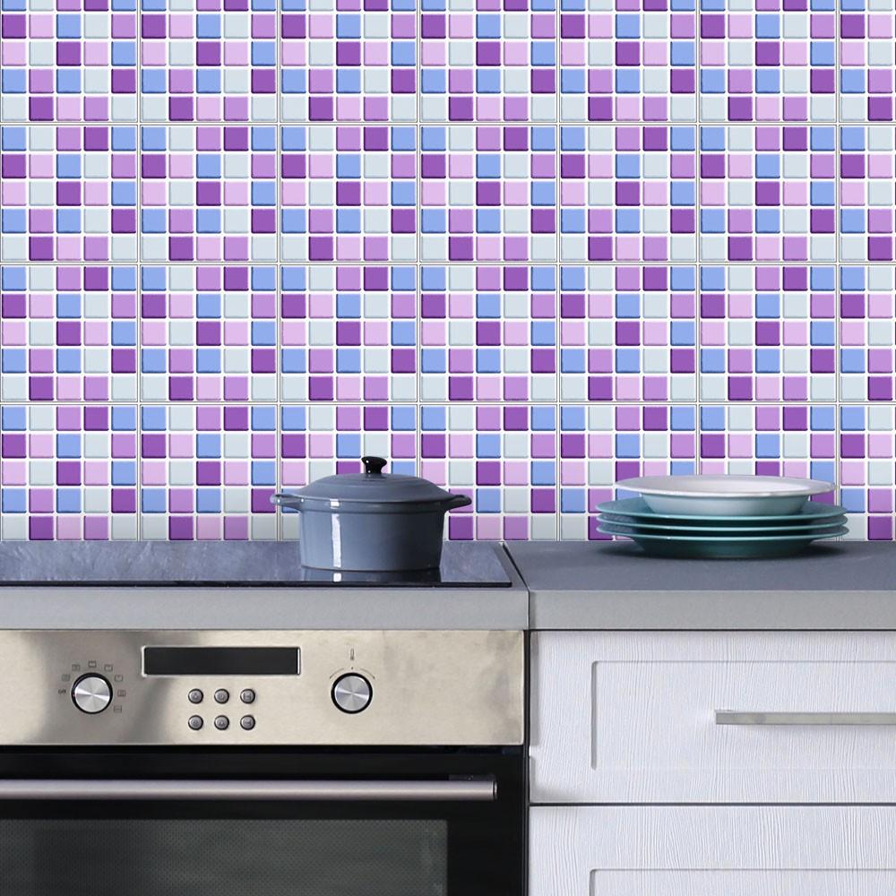 Adesivo para Azulejo Pastilha 3D Lirio