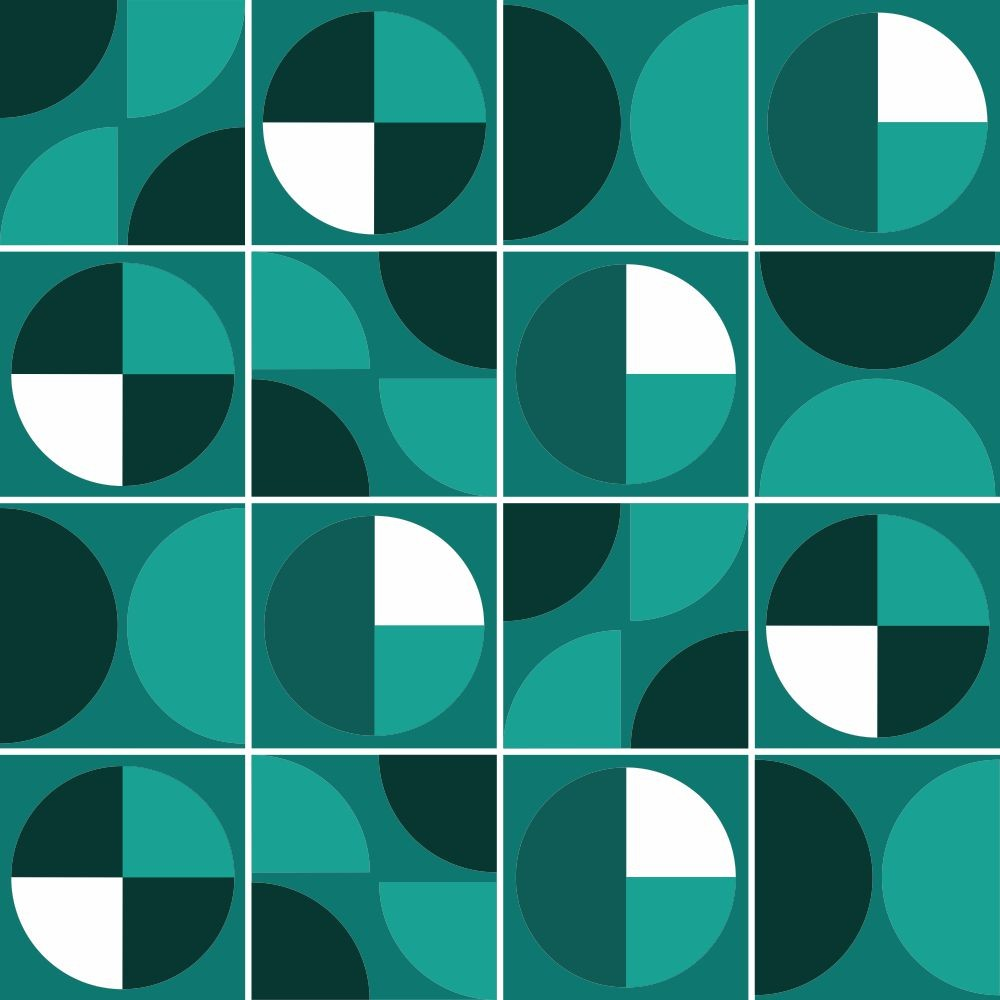 Adesivo para Azulejo Tons Verdes