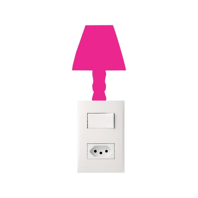 Adesivo para Interruptor Abajur