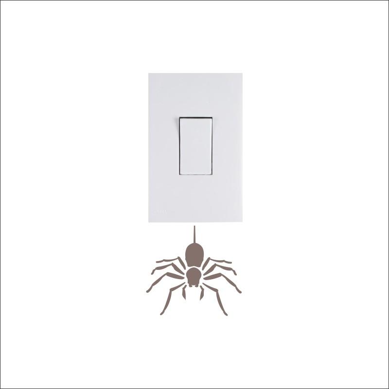 Adesivo para Interruptor Aranha
