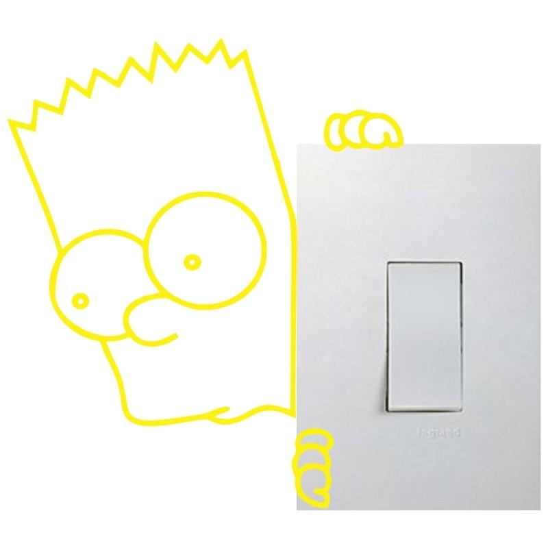 Adesivo para Interruptor Bart