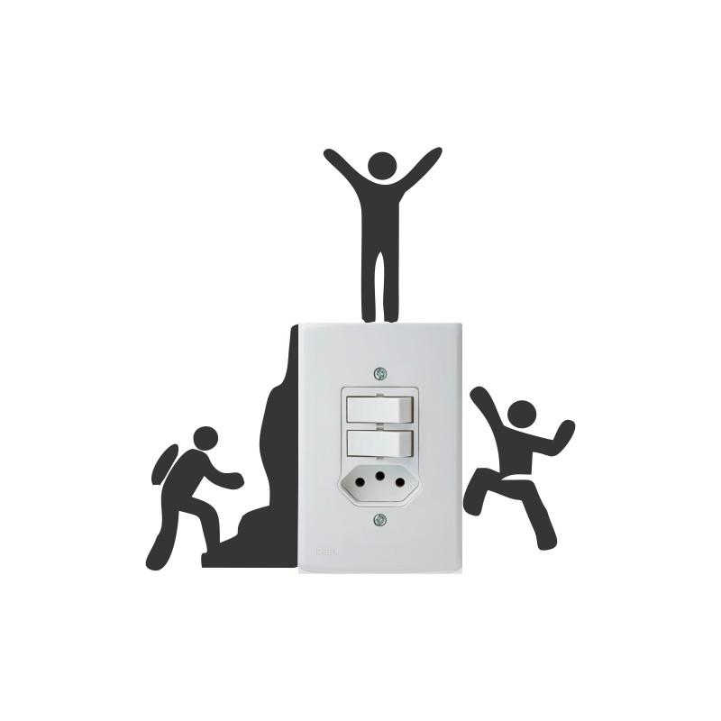 Adesivo para Interruptor Escalando