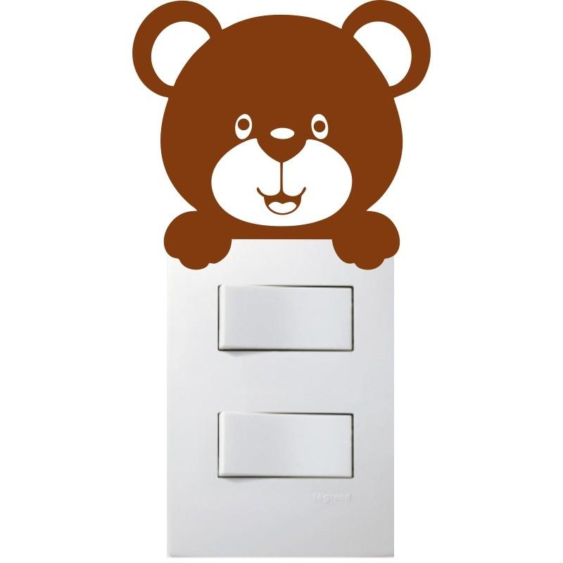 Adesivo para Interruptor Teddy