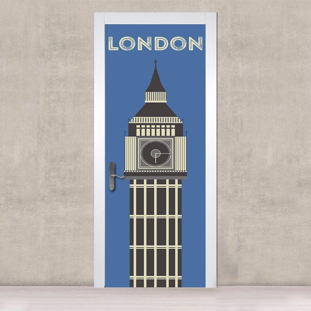 Adesivo de Porta London Tower