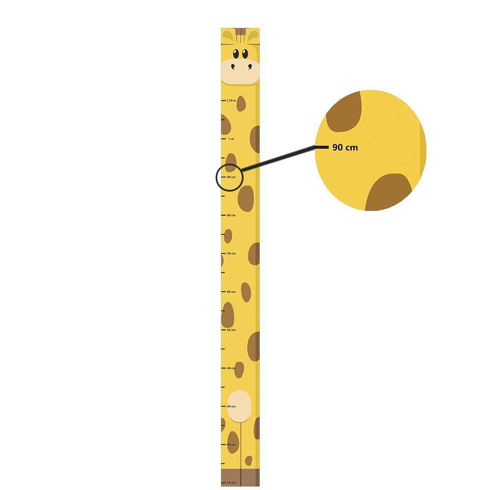 BRINDE - Adesivo Régua de Crescimento Girafinha (10x120cm)