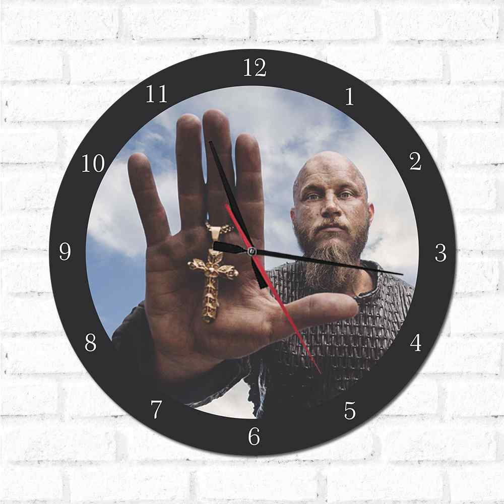 Relógio Decorativo Vikings1