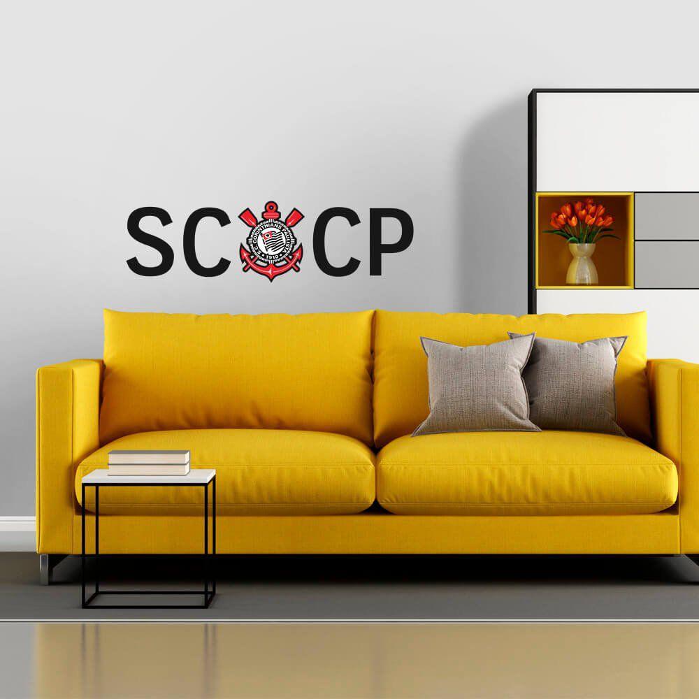 Corinthians - Adesivo de Parede SCCP
