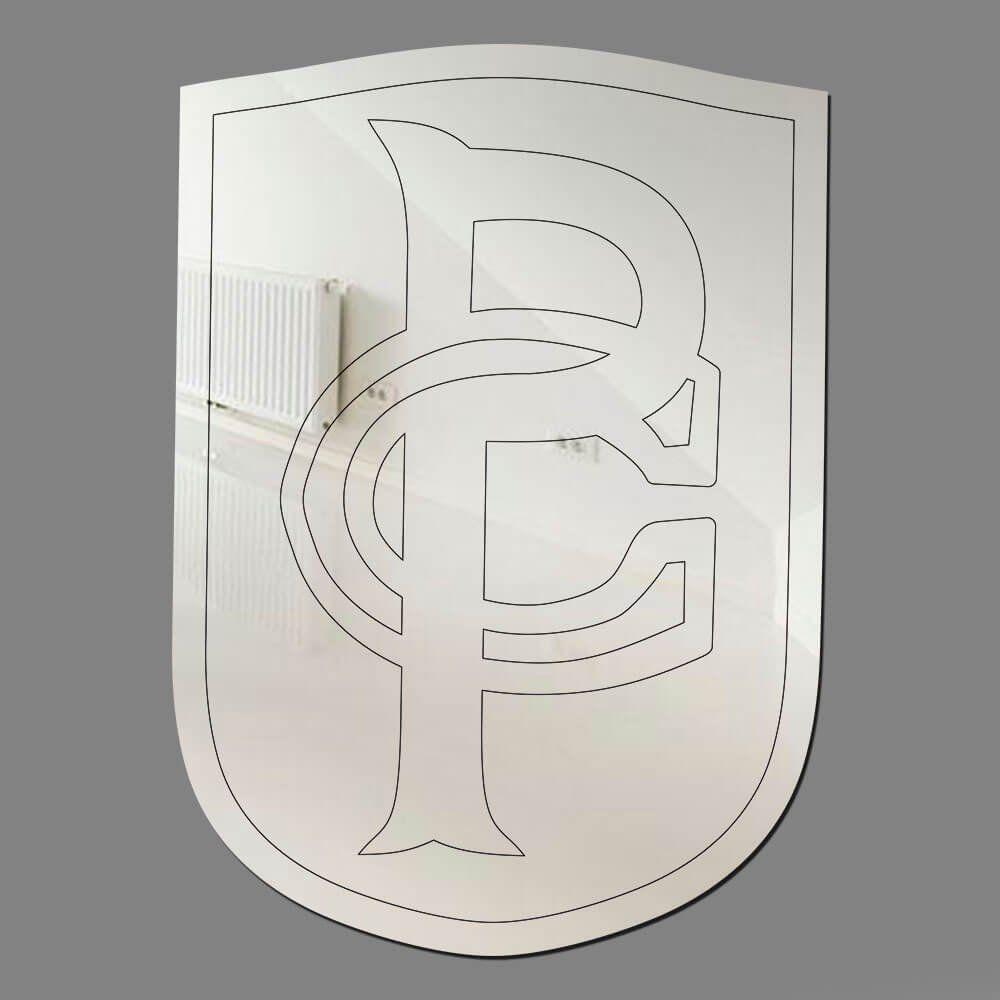 Corinthians - Espelho Decorativo 1914