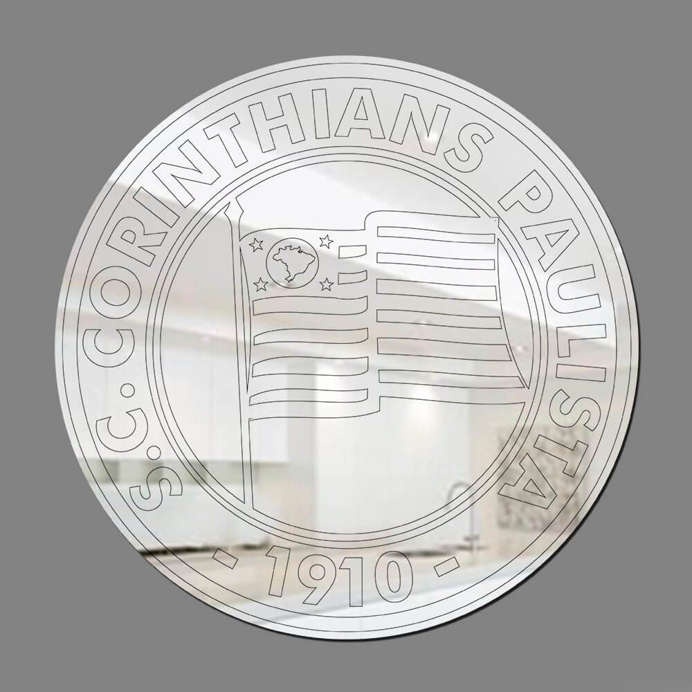 Corinthians - Espelho Decorativo 1920