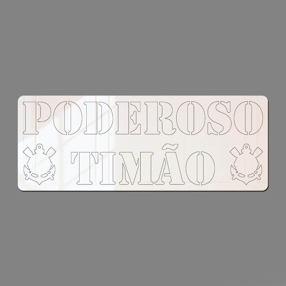 Corinthians - Espelho Decorativo Poderoso