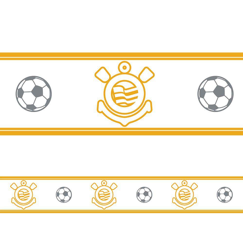 Corinthians - Faixa de Parede Fut Clean