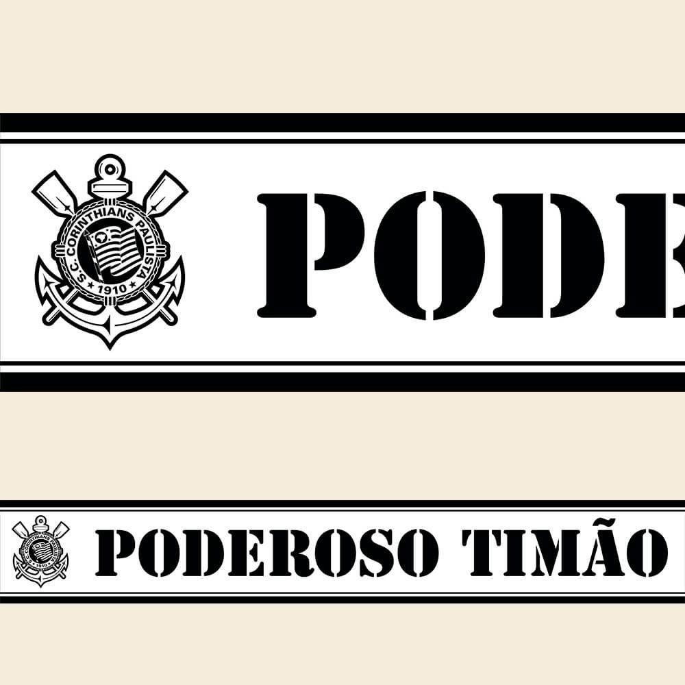 Corinthians - Faixa de Parede Poderoso