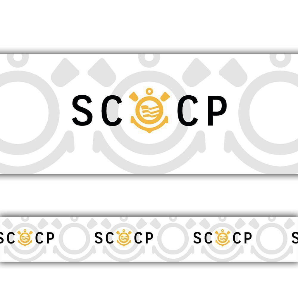 Corinthians - Faixa de Parede SCCP