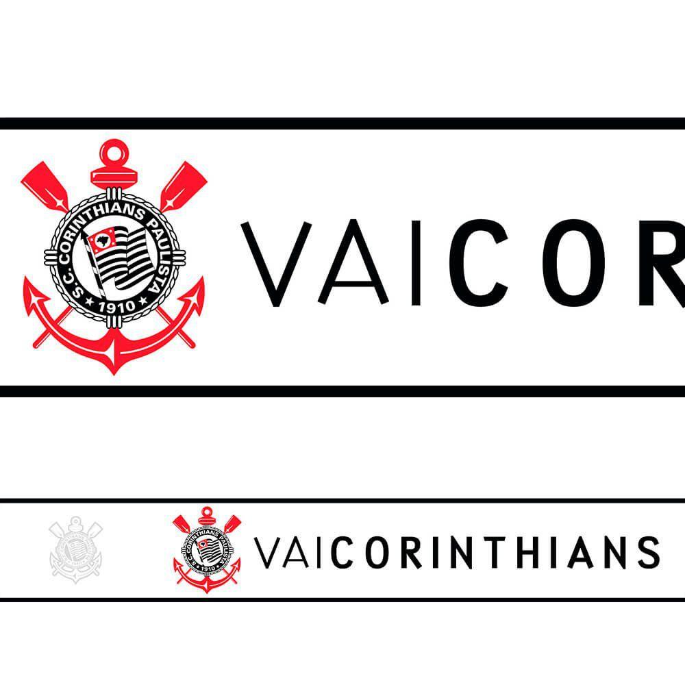 Corinthians - Faixa de Parede Vai Riscos