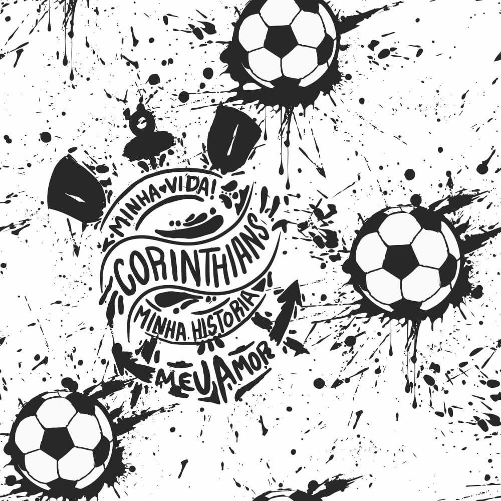 Corinthians - Papel de Parede Bola Street