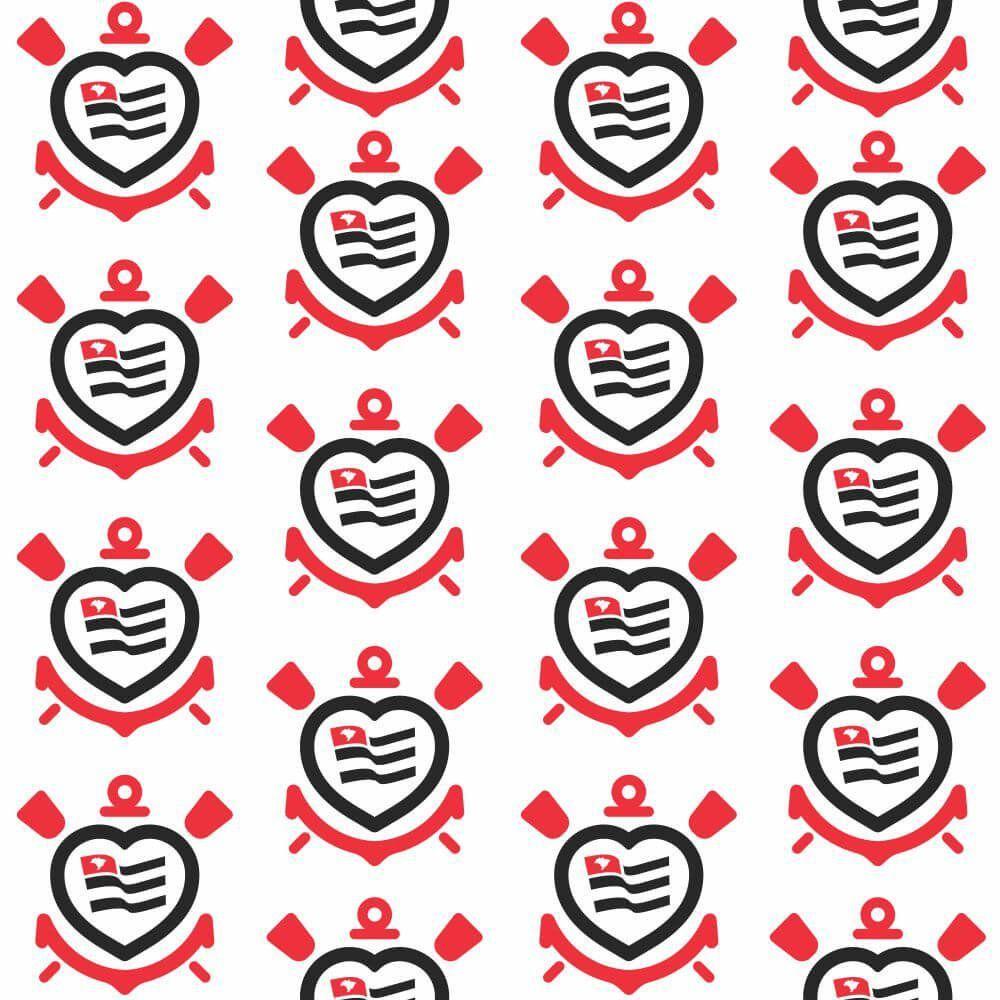 Corinthians - Papel de Parede Coração Logo