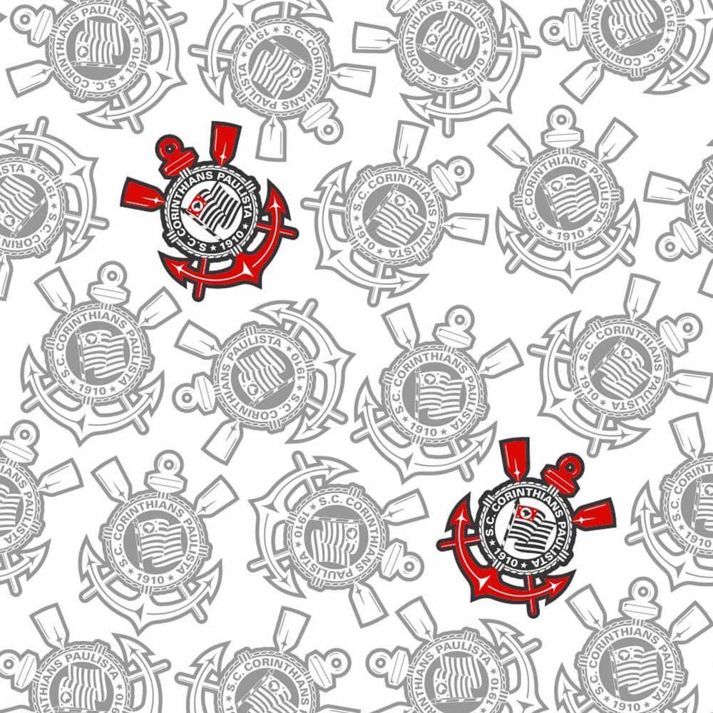 Corinthians - Papel de Parede Logos Mesclados