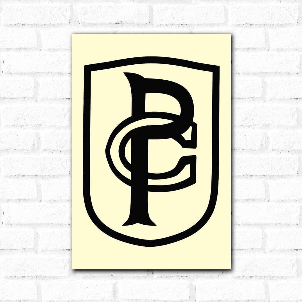Corinthians - Placa Decorativa 1914