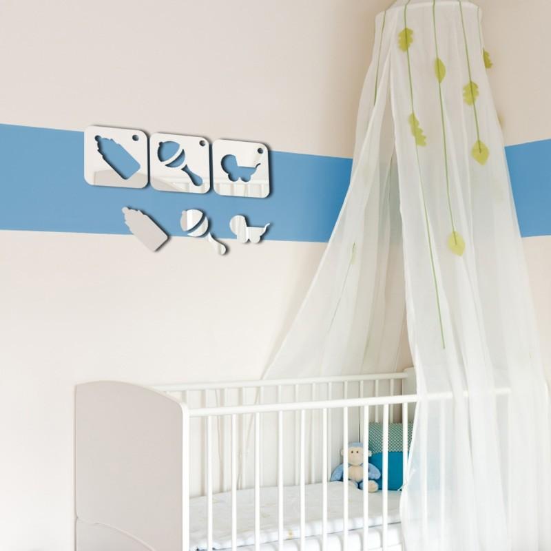 Espelho Decorativo Baby Quadros
