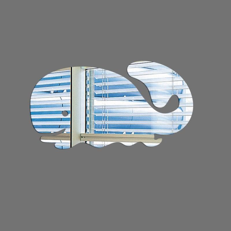 Espelho Decorativo Baleia