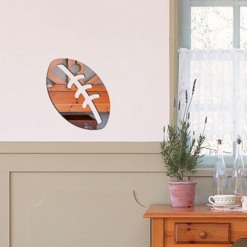 Espelho Decorativo bola de futebol Americano