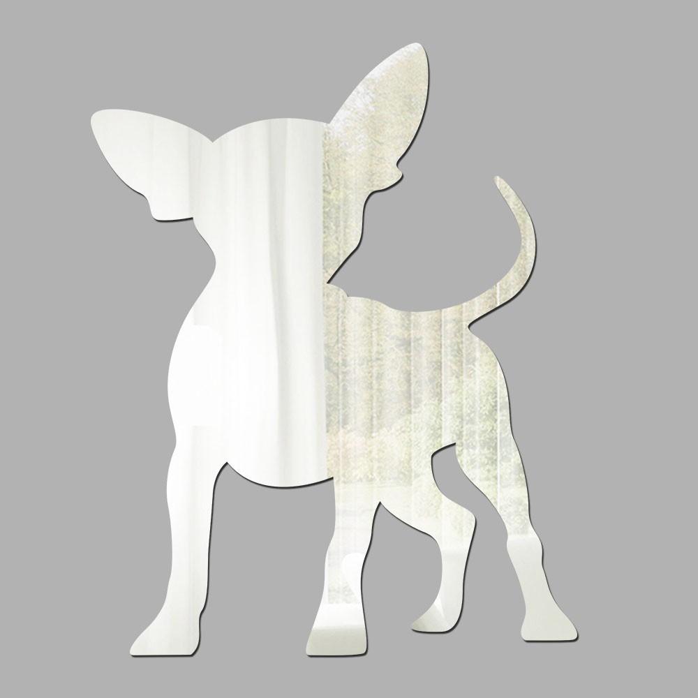 Espelho Decorativo Chihuahua