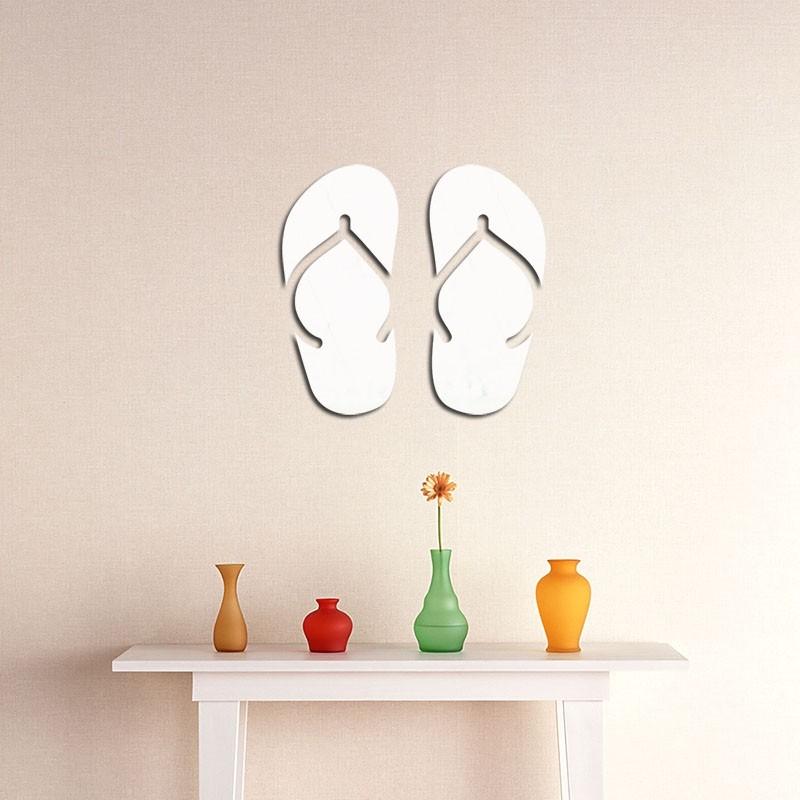 Espelho Decorativo Chinelos