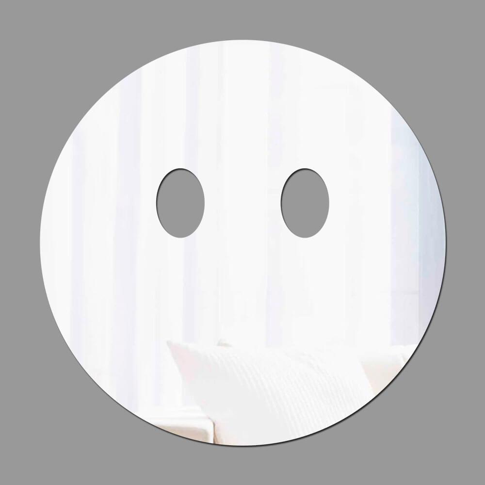 Espelho Decorativo Emoji Calado