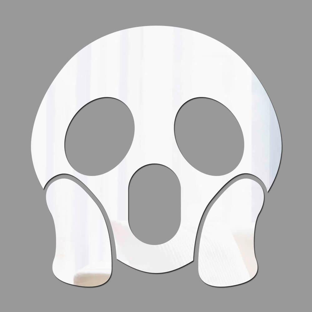 Espelho Decorativo Emoji Inacreditável