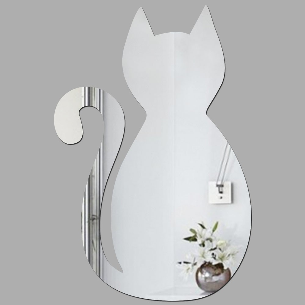Espelho Decorativo Gato Basic