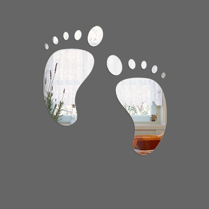Espelho Decorativo Pezinho