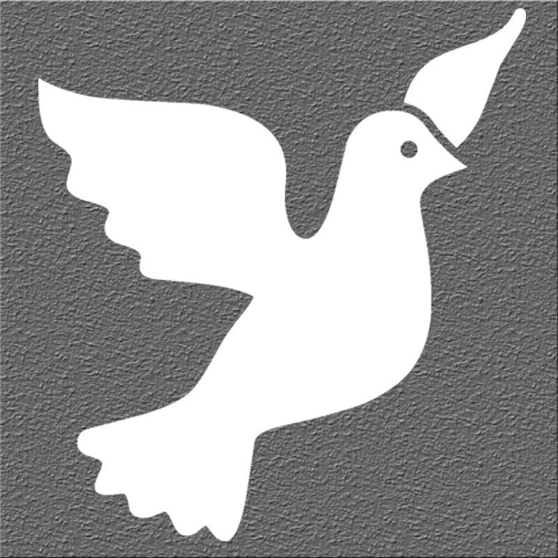 Espelho Decorativo Pombo da Paz