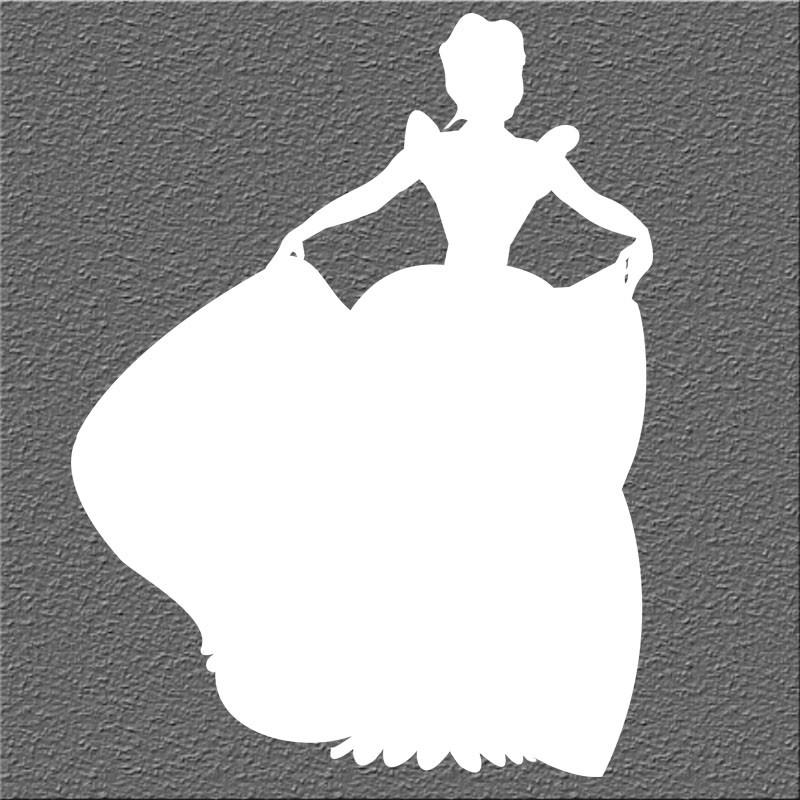 Espelho Decorativo Princesa