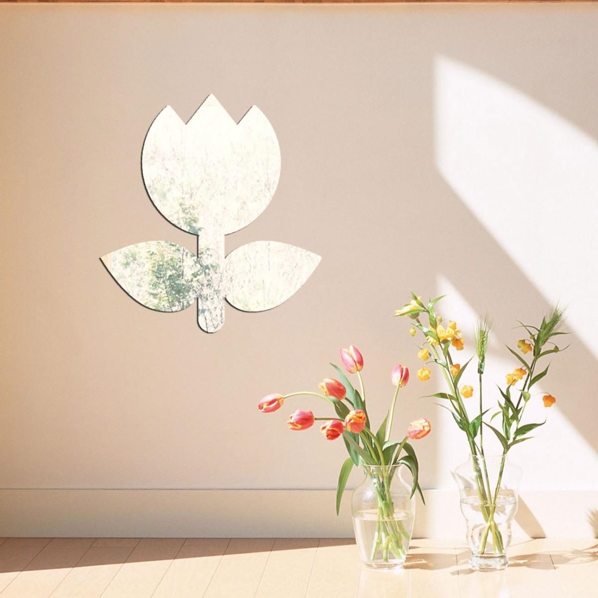 Espelho Decorativo Tulipa