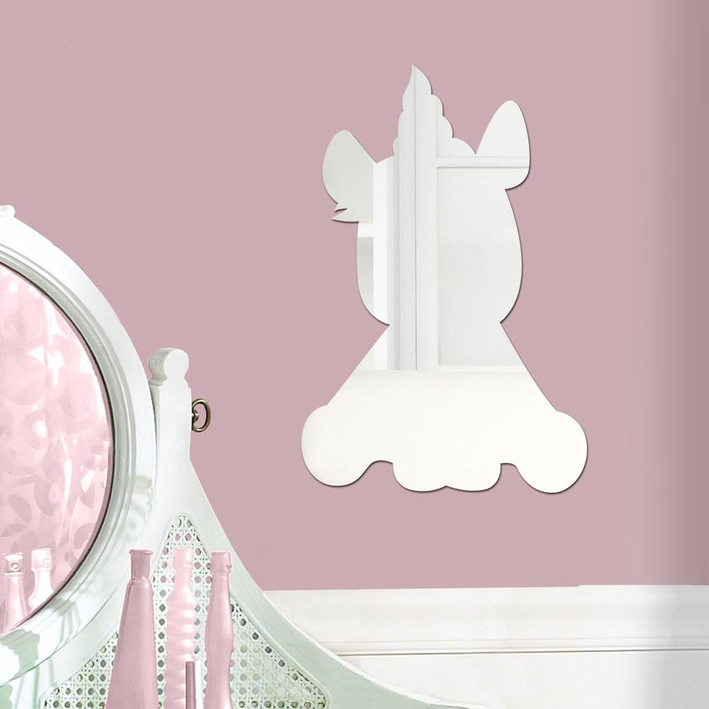 Espelho Decorativo Unicórnio Cute