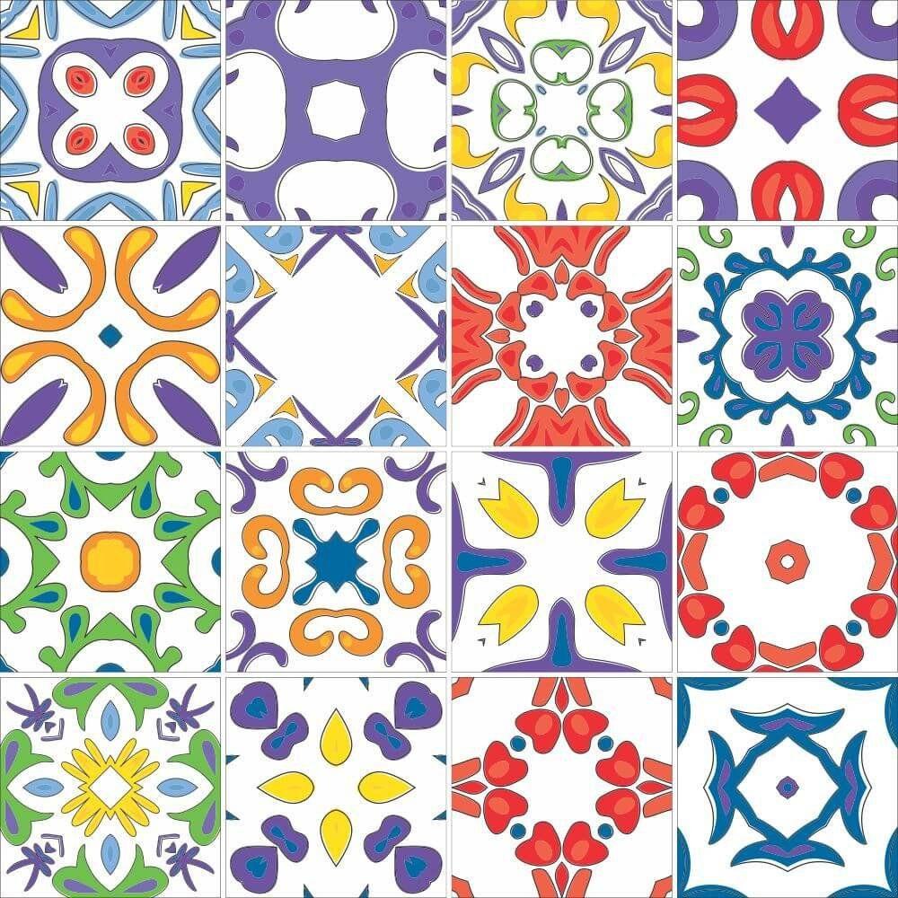 OUTLET - 1 Kit Adesivo para Azulejo Porto 20x20 cm