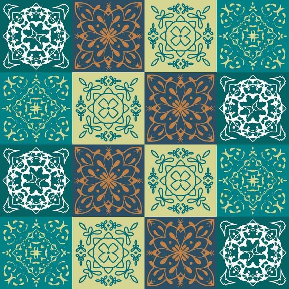 OUTLET - 1 Kit Adesivo para Azulejo Risk 20x20 cm