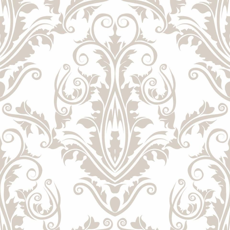 OUTLET - 1 Rolo de Papel de Parede Floral Tips Clean 0,60 x 3,00 metros