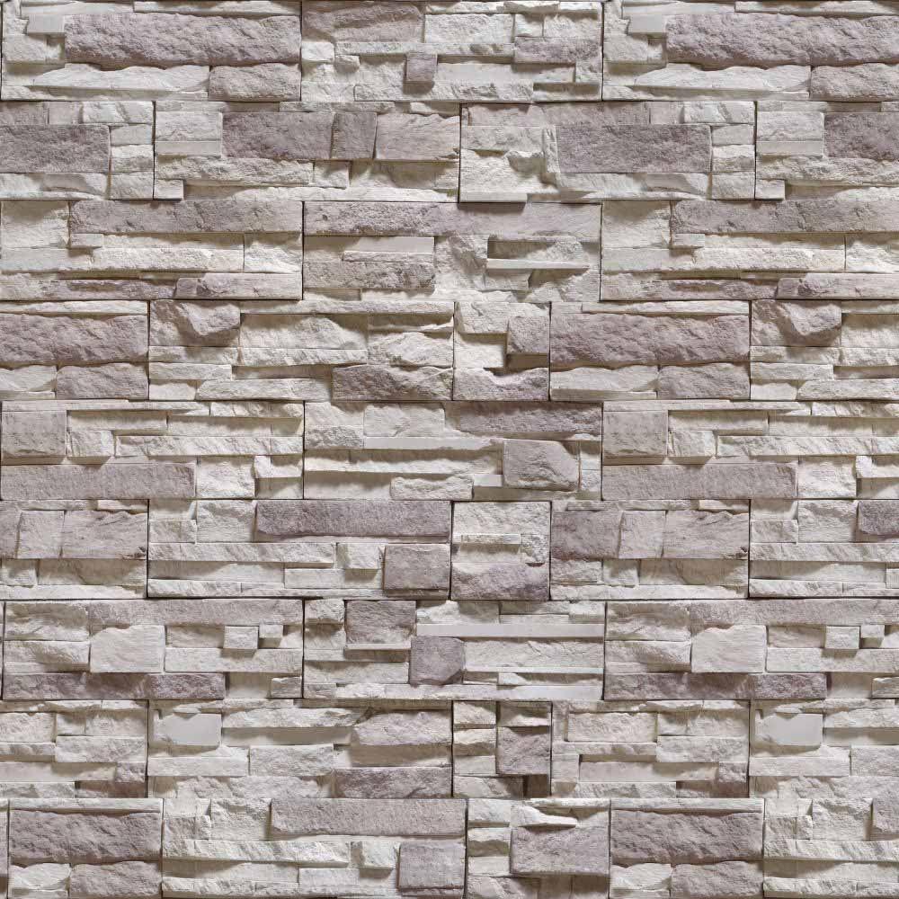 OUTLET - 2 Rolos de Papel de Parede Pedras Canjiquinha 08 0,60 x 2,50 metros