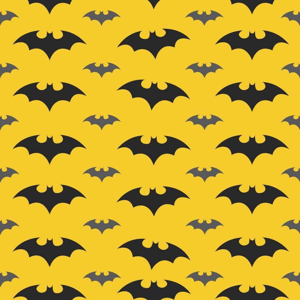 OUTLET - 3 Rolos de Papel de Parede Morcego 0,58 x 2,50 metros
